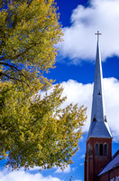 Steeple and Trees - Leadville CO